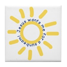Sunbeam Tile Coaster