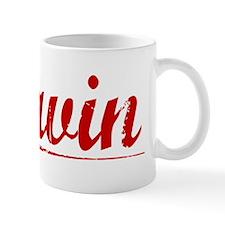 Davin, Vintage Red Mug