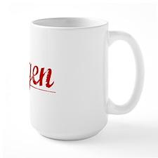 Degen, Vintage Red Mug