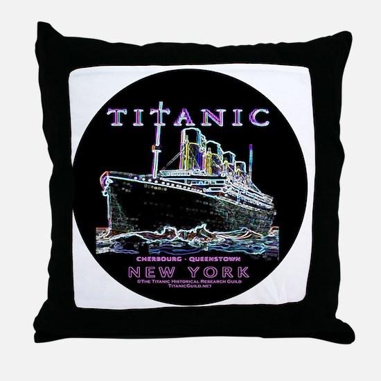 TG9-14x14RoundTRANS Throw Pillow