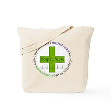 hospice nurse giving qulaity life 2 Tote Bag