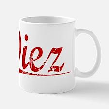 Diez, Vintage Red Mug