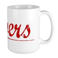 Devers, Vintage Red Mug