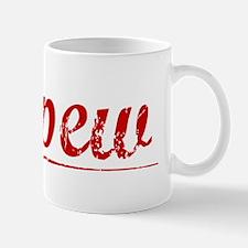 Depew, Vintage Red Mug