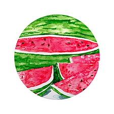 """More Watermelon Please! 3.5"""" Button"""