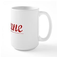 Devane, Vintage Red Mug