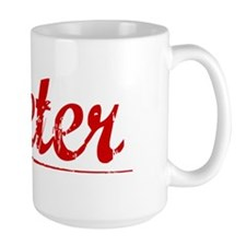 Dieter, Vintage Red Mug