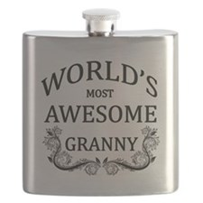 World's Most Awesome Granny Flask
