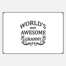 World's Most Awesome Granny Banner