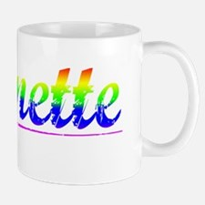 Bonnette, Rainbow, Mug