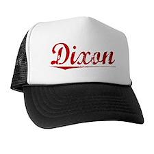 Dixon, Vintage Red Trucker Hat