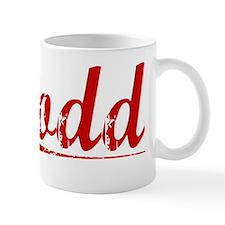 Dodd, Vintage Red Mug