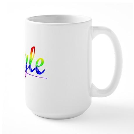 Boyle, Rainbow, Large Mug