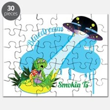 Smokin Ts Blue Dream Puzzle