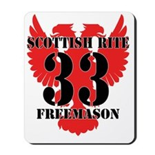 Scottish Rite 33rd Mousepad