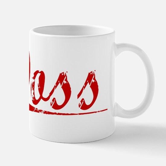 Doss, Vintage Red Mug