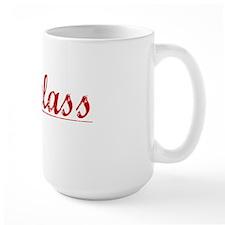 Douglass, Vintage Red Mug