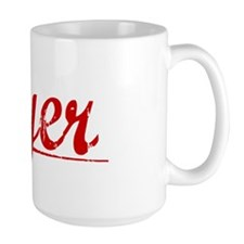 Dyer, Vintage Red Mug
