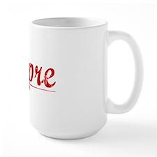 Dupre, Vintage Red Mug