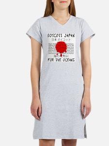 Boycott Japan Women's Nightshirt