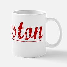 Eccleston, Vintage Red Mug