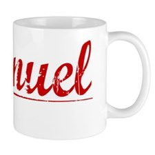 Emanuel, Vintage Red Small Mug