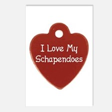 Love My Schapendoes Postcards (Package of 8)