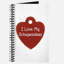 Love My Schapendoes Journal