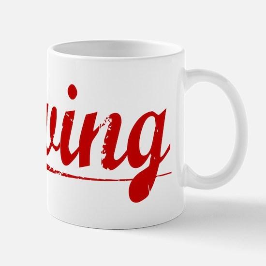 Erving, Vintage Red Mug
