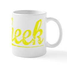 Cheek, Yellow Mug