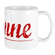 Etienne, Vintage Red Mug