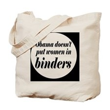 Obamabinderbutton Tote Bag