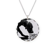 Nosework Spumoni Search for  Necklace Circle Charm