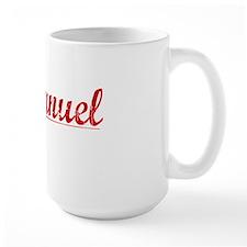 Emmanuel, Vintage Red Mug