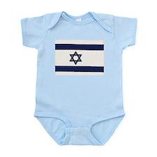 Israeli Flag Infant Bodysuit