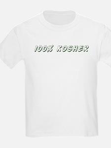 100% Kosher Kids T-Shirt