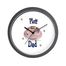 Plott Dad Wall Clock