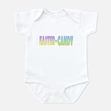 Easter Equals Candy Infant Bodysuit