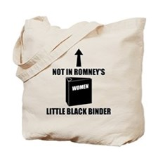 Romneys Little Black Binder of Women Tote Bag