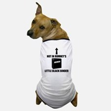 Romneys Little Black Binder of Women Dog T-Shirt