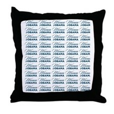 binder of women - for obama not romne Throw Pillow