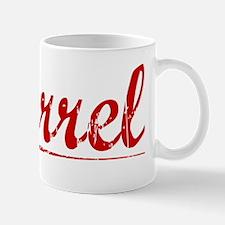 Farrel, Vintage Red Mug