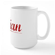 Fabian, Vintage Red Mug