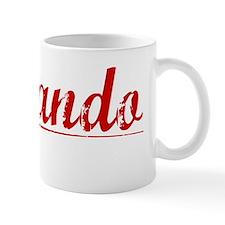 Fernando, Vintage Red Mug