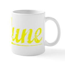 Clune, Yellow Small Mug