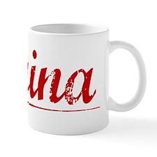 Farina, Vintage Red Mug