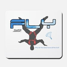 Fly Freefly Skydiving Mousepad
