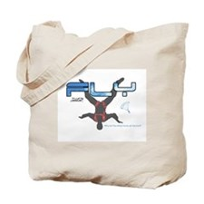 Fly Freefly Skydiving Tote Bag