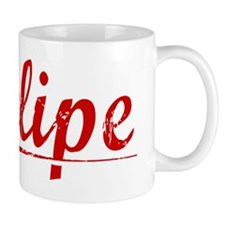 Felipe, Vintage Red Mug