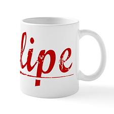 Felipe, Vintage Red Small Mug
